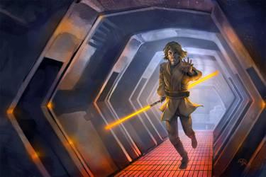 Commission: Jedi Kevin by mattandrews