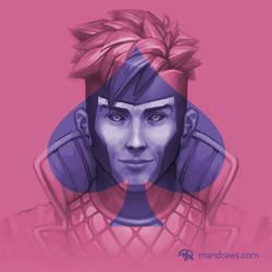 X-Men Tribute: Gambit by mattandrews