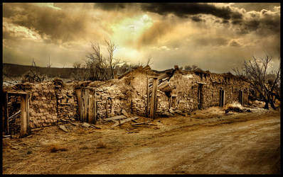Old New Mexico by kimjew