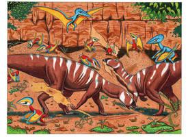 Tenontosaurus by NocturnalSea