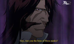 The Boss of these punks by Zanpakuto-Leader