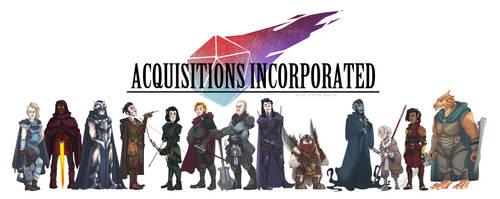 Acquisitions Inc. Cast by NurseNormal