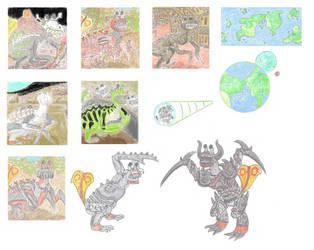 Cultures of Planet Coatlicue-23b by biohazzart