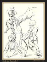 Study after Raphaello I by renaissanceman3