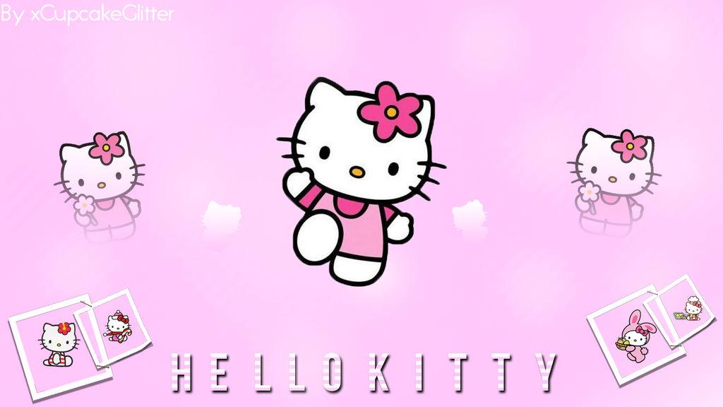 Hello Kitty Wallpaper By Xcupcakeglitter On Deviantart