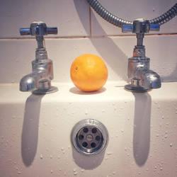 Orange bath by elation-station