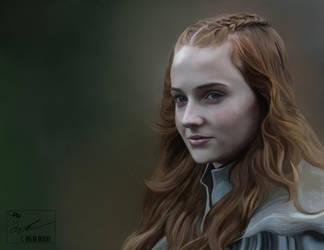 Sansa Stark by frostdusk