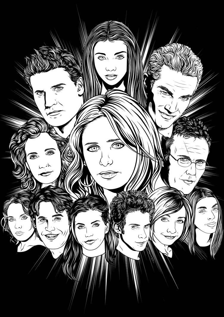 Buffy the Vampire Slayer by frostdusk