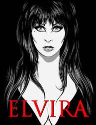 Elvira, Mistress of the Dark by frostdusk