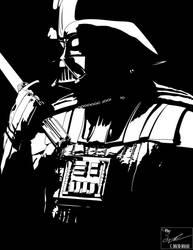 Darth Vader - Contemplation (No Tone) by frostdusk