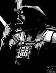 Darth Vader - Contemplation (Tone) by frostdusk