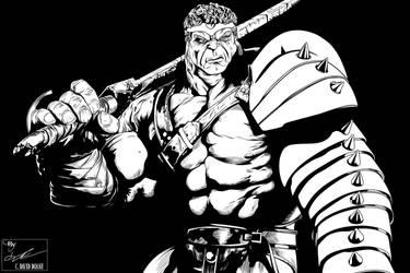 King Hulk by frostdusk