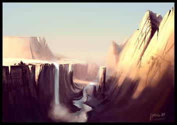 Canyon concept by highdarktemplar