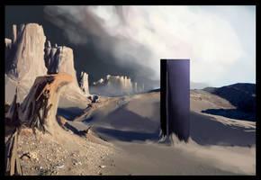 Monolith by highdarktemplar
