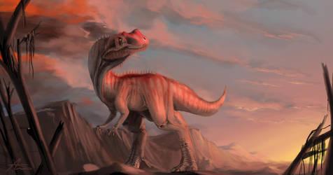 Ceratosaurus by highdarktemplar