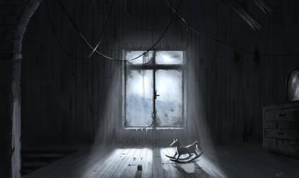 Haunted room by highdarktemplar