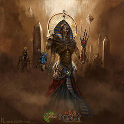 Amon Ra by highdarktemplar
