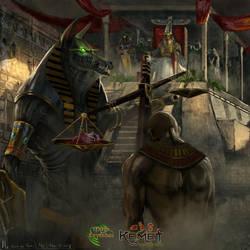 Juicio De Osiris by highdarktemplar