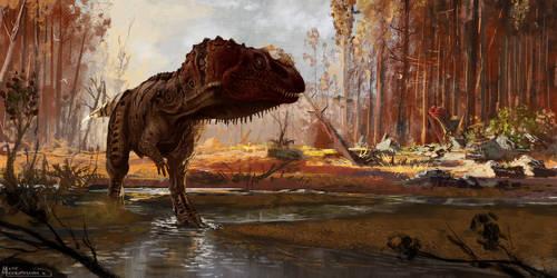 Ceratoraurus nasicornis by highdarktemplar