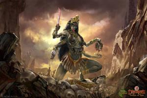 Kali by highdarktemplar