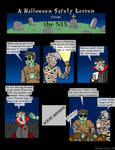 Halloween Safety with the NIX by NyQuilDreamer