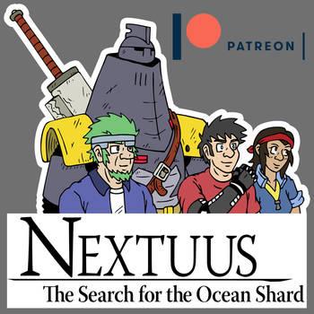 Nextuus Sticker Patreon by NyQuilDreamer