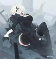 2B NieR: Automata by YeeDee