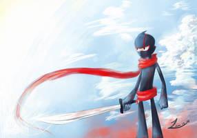 Ninja by greenbudbowl