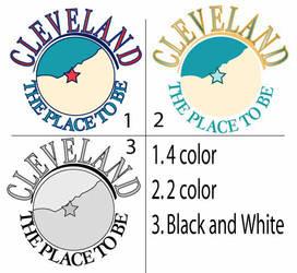 Cleveland Logo 4 color by lugiayoshi