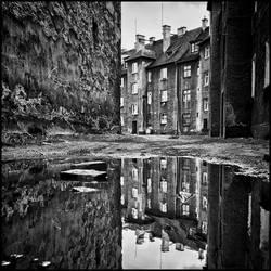 Backyard reflection by RafalBigda