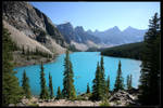Moraine Lake II by Dr-Zook