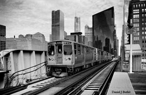 Chicago L by DanielJButler