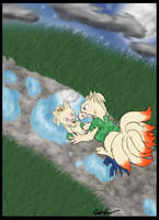 Ninetales tf solo by SwichWitch