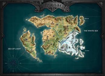 Breath of Fire: Iriah Map by Thylrienn