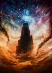 Raging Elements by Thylrienn