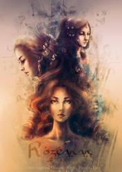 Three Sisters: Rozenn by Thylrienn