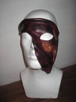 Steampunk half mask by akinra-workshop