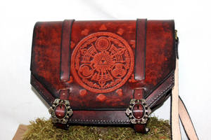 Triforce, Legend of Zelda shoulder bag by akinra-workshop