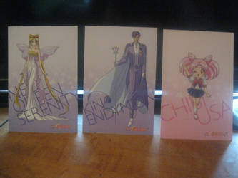 Sailor moon R cards set 3 by starfire9467