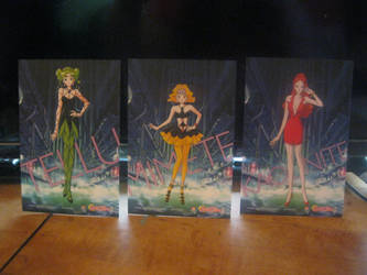 Sailor moon S cards set 2 back by starfire9467