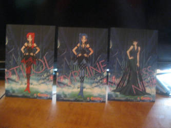 Sailor moon S card set 3 back by starfire9467