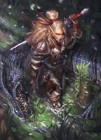 Falla the Dragon Slayer by Jastham