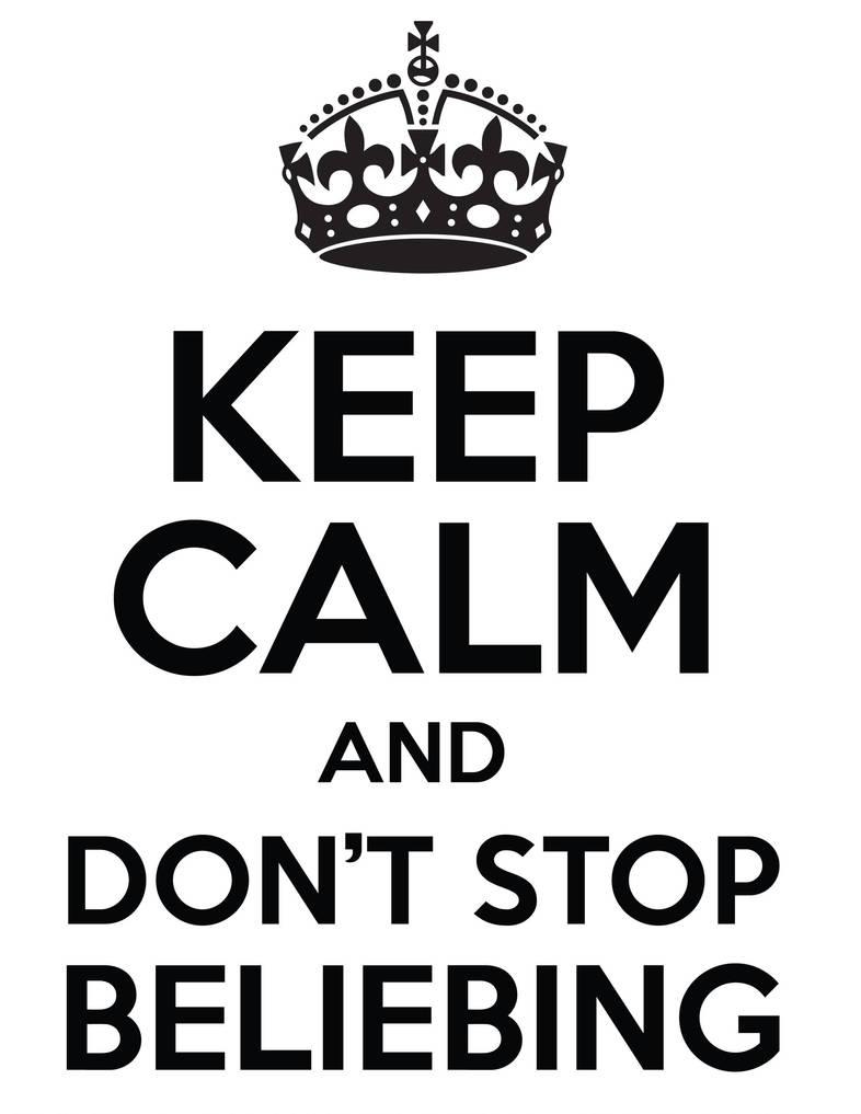 Belieber Keep Calm T Shirt Design By Danhaydenjr On Deviantart
