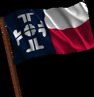 Waving Texas Federation (Fictional Flag) by kwhammes