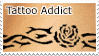 Tattoo Addict Stamp by boredx2