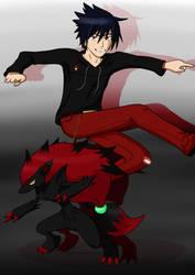 Trainer Sasuke Wants to Battle by Rikakio