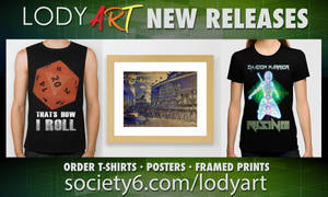 New Releases from LODY ART by LodyArt
