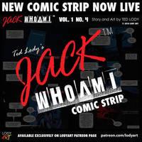 Jack WhoAmI Comic Strip PROMO vol 1 no 4 by LodyArt