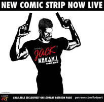 Jack WhoAmI Comic Strip Now Live! by LodyArt
