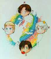 Hetalia Compass by magnifulouschicken